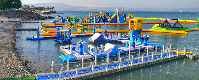 פארק צף על המים